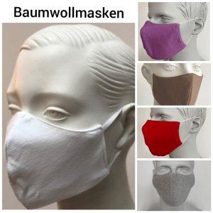 Baumwollmasken
