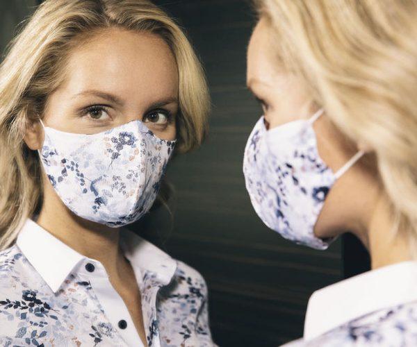 Maske passend zur Bluse